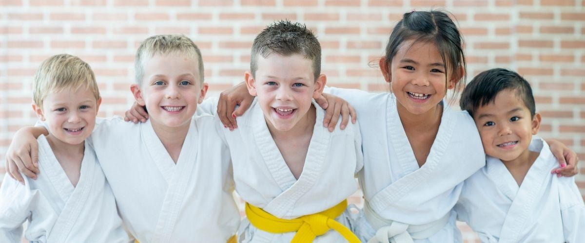 Clases de artes marciales online para niños